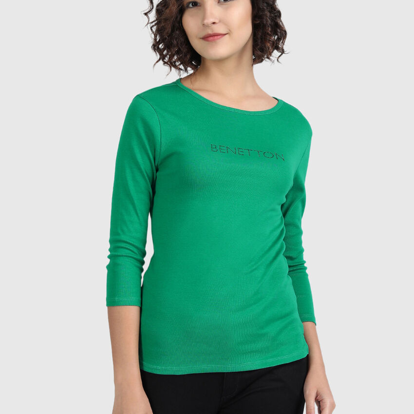 Pure Cotton Tee Shirt with Branding