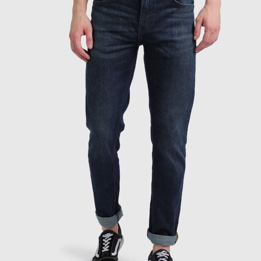 Cotton Mild Faded Jeans