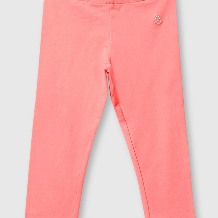 Pack of Two Cotton Capris
