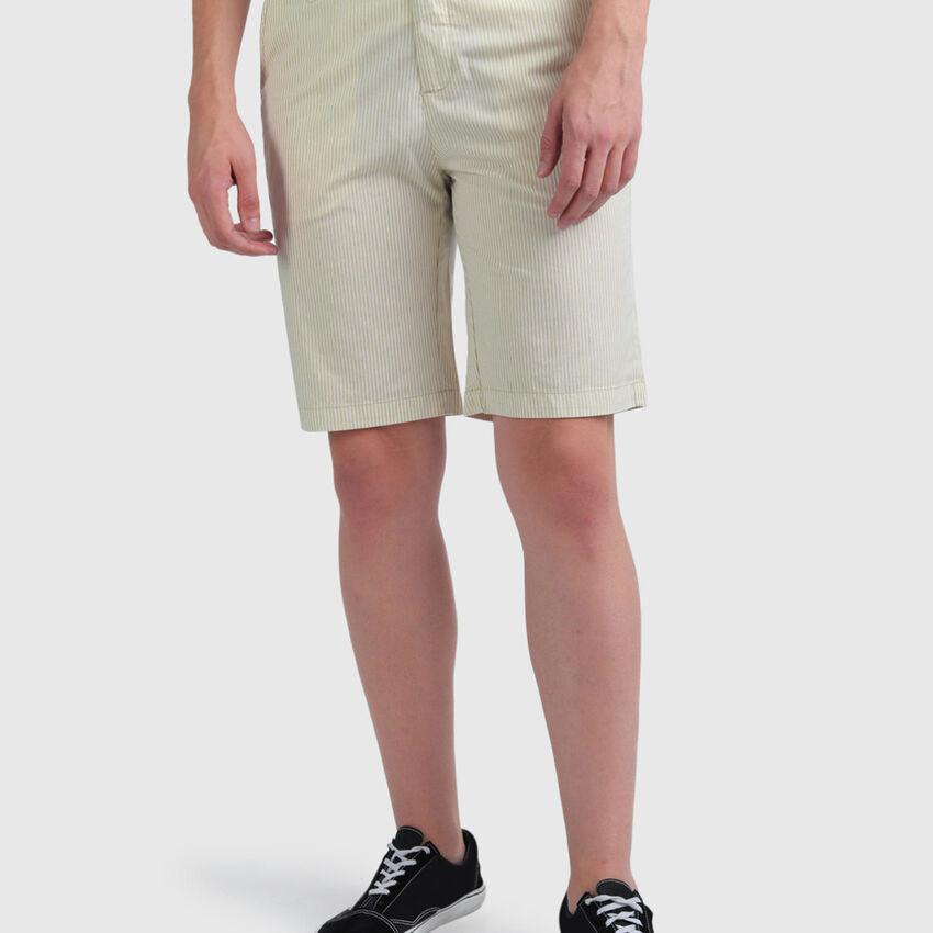 Cotton Stripes Shorts