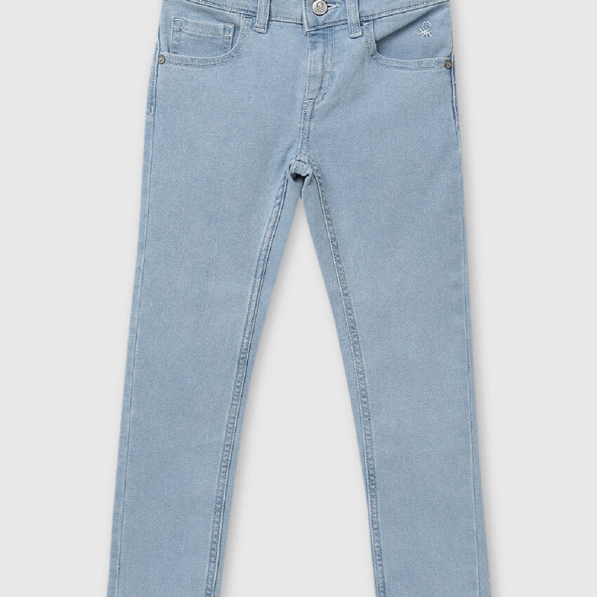 Slim Fit Washed Out Denims
