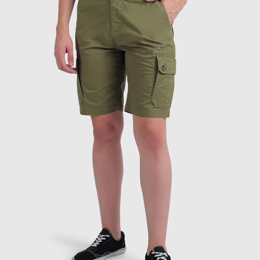 Cotton Comfort Fit Cargo Shorts
