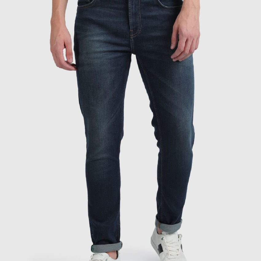 Skinny Jeans with Mild Fade