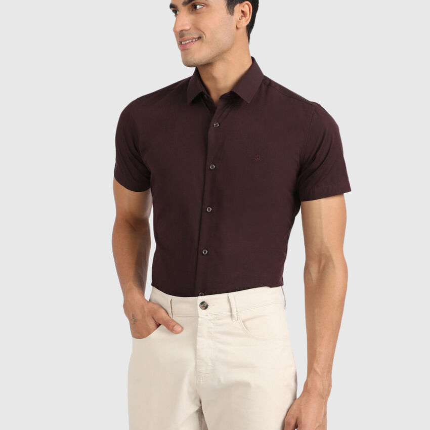 Cotton Half Sleeve Formal Shirt