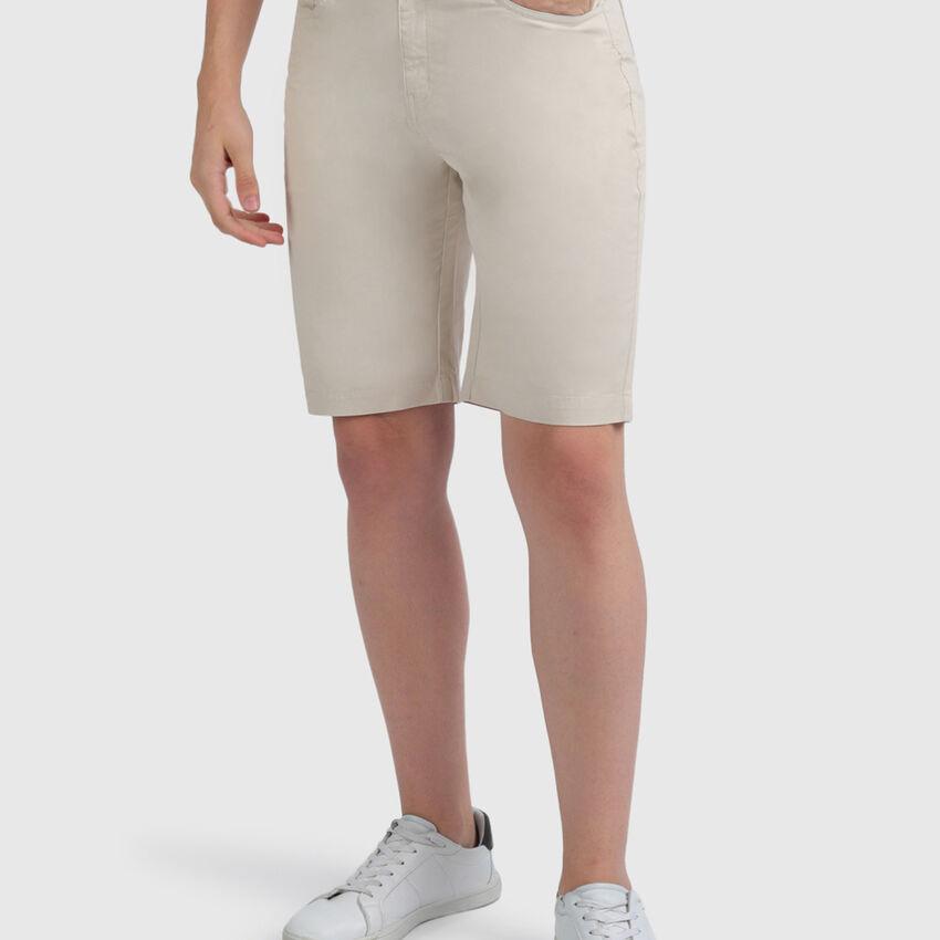 Cotton Slim Fit Shorts