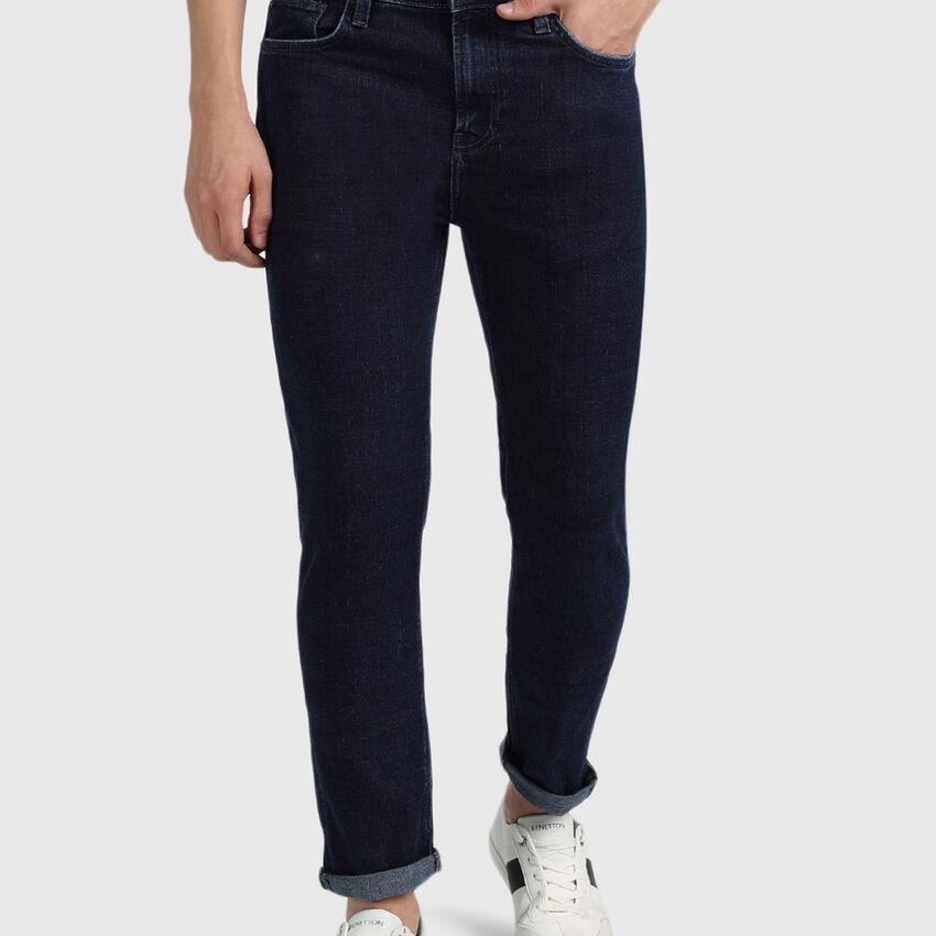 Cotton Low Crotch Fit Jeans