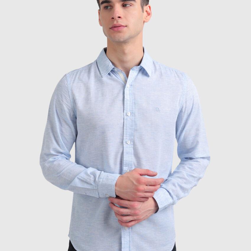 Textured Lyocell Shirt