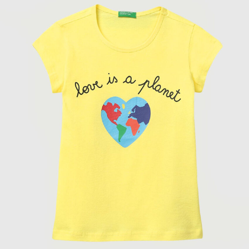 Pure Cotton Tee Shirt with Print