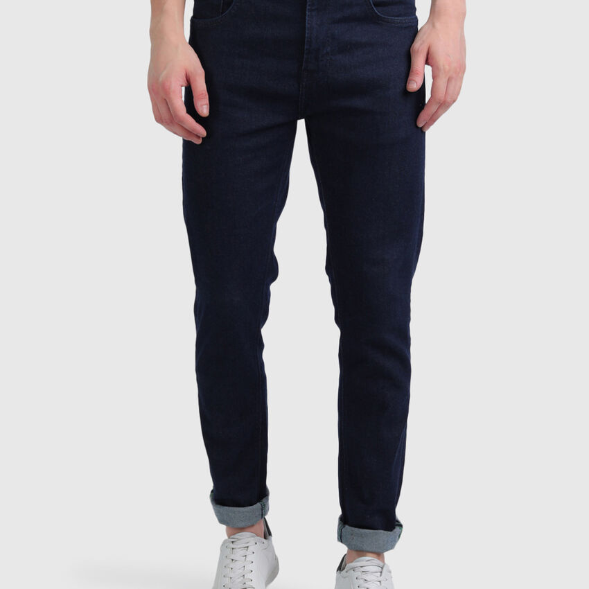 Cotton Slim Tapered Fit Jeans