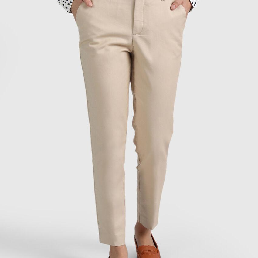 Cotton Lycra Core Trousers