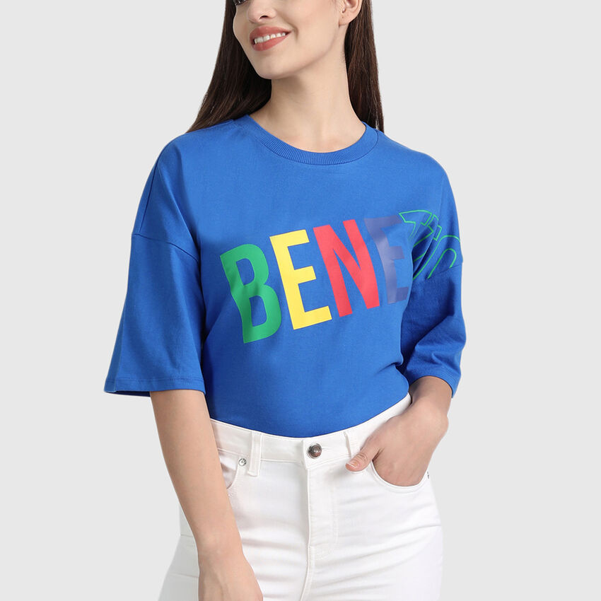 Cotton Short Sleeve Tee Shirt