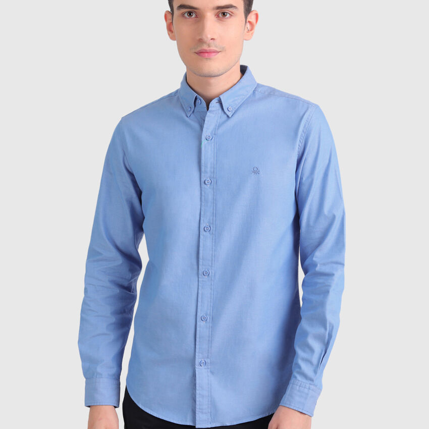 Pure Cotton Oxford Shirt