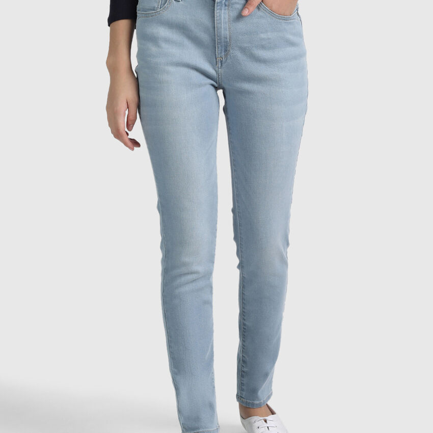Cotton Jeans in Skinny Fit