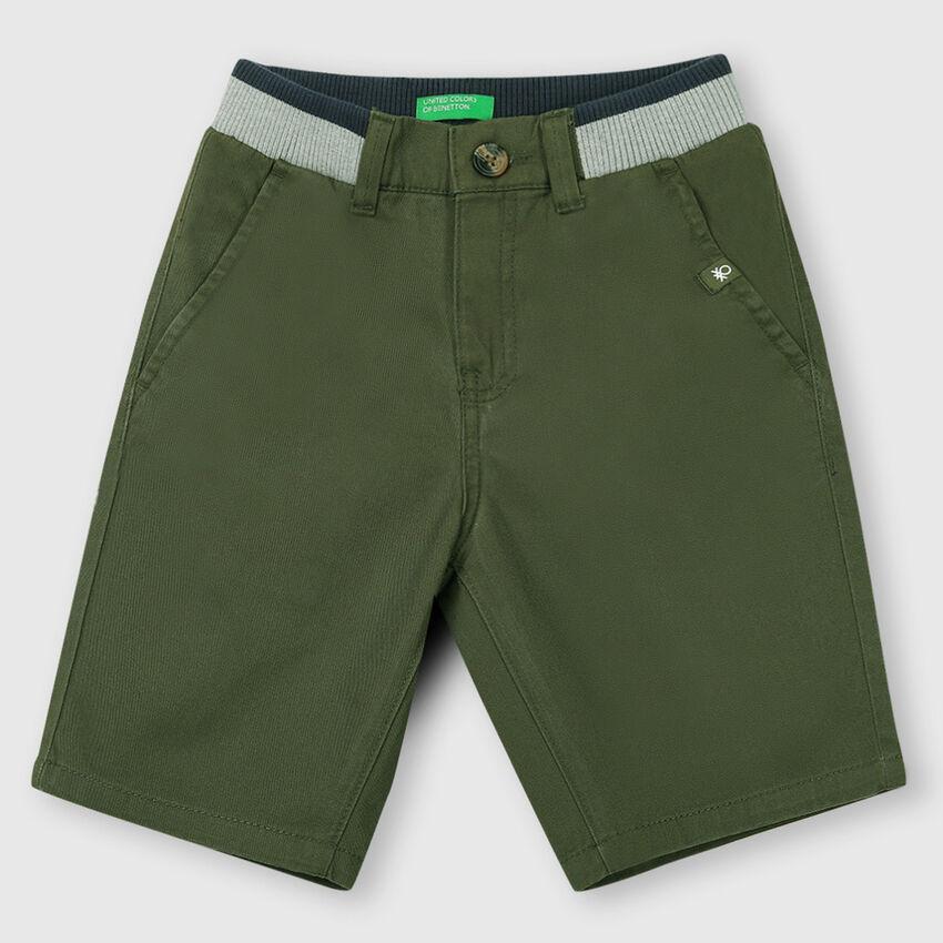 Cotton Rib Shorts