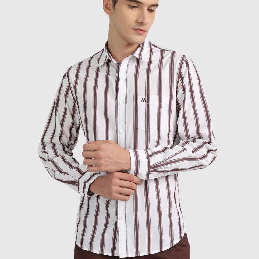 Cotton Peached Poplin Shirt