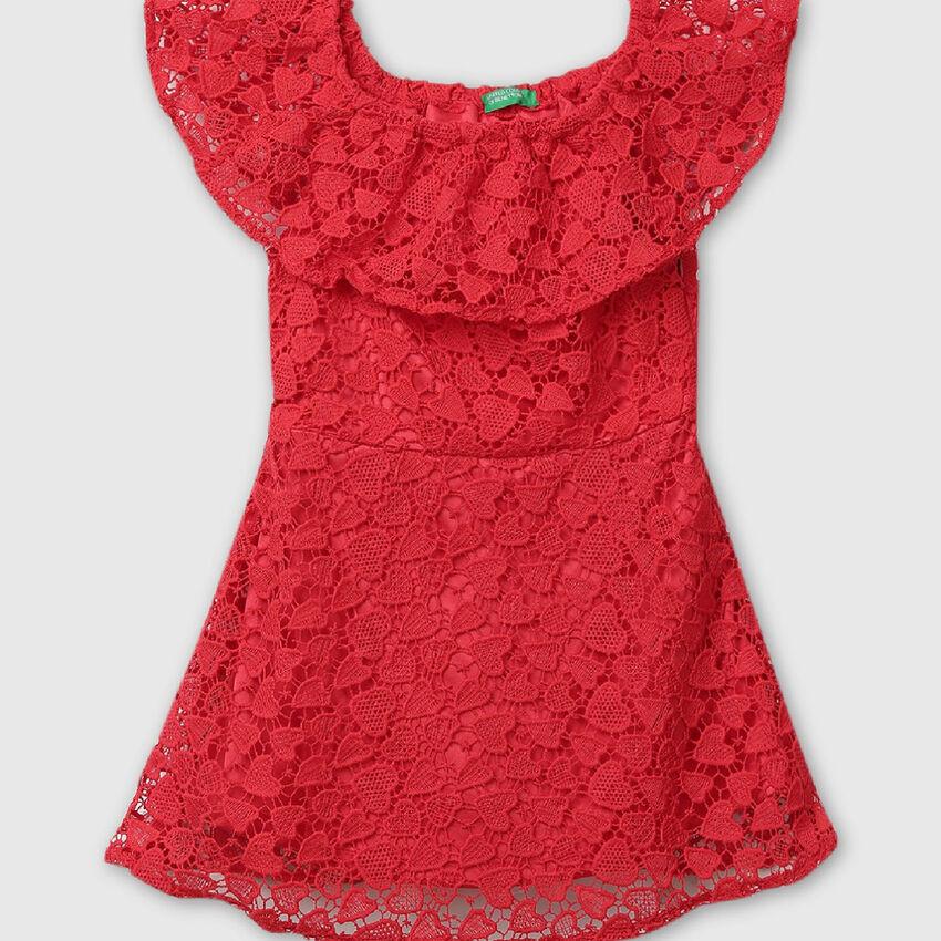 Heart-Lace Summer Dress