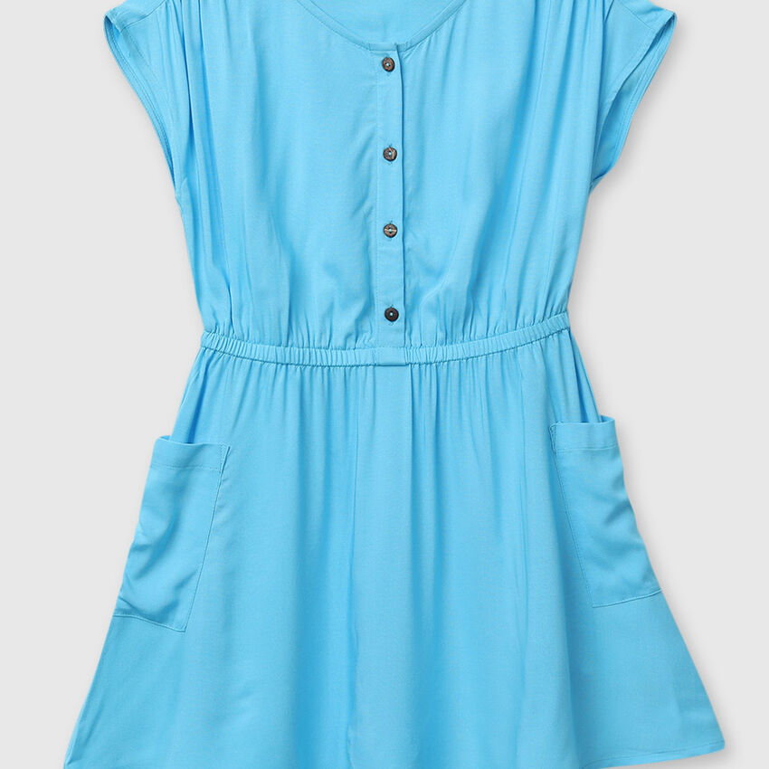 Casual Viscose Regular Fit Dress