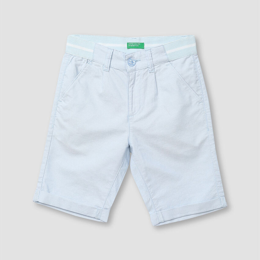Cotton Oxford Shorts