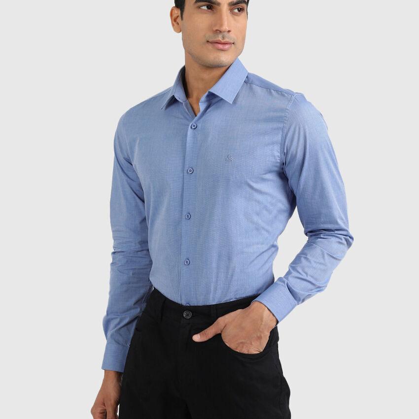 Cotton Slim Fit Formal Shirt